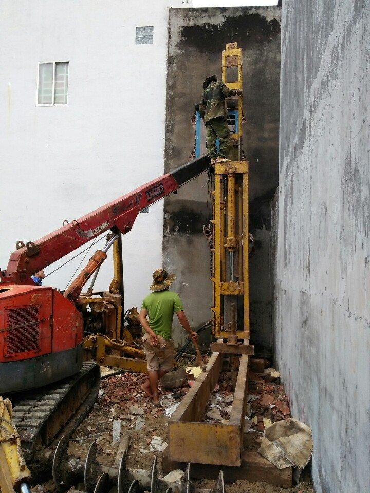 Nhà thầu ép cọc bê tông tại quận Bình Thạnh TPCM