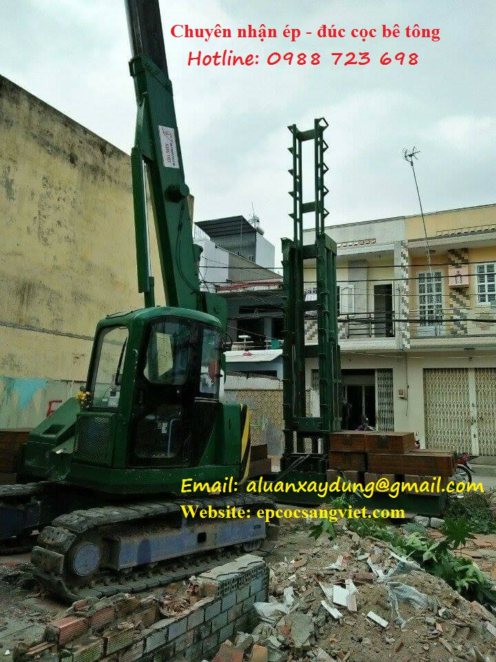 Công ty ép cọc bê tông Sang Việt