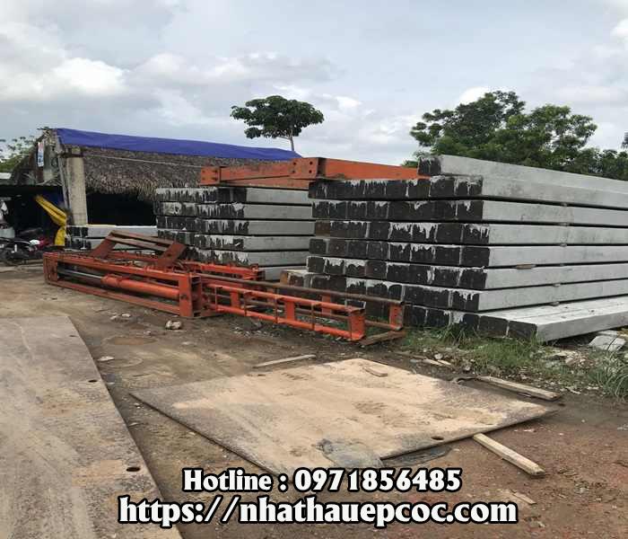 Sức chịu tải của cọc ép bê tông 300 x 300 & 250 x 250